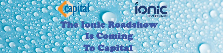 The Ionic Roadshow is coming to Capital