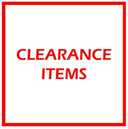 Approved Clearance Items