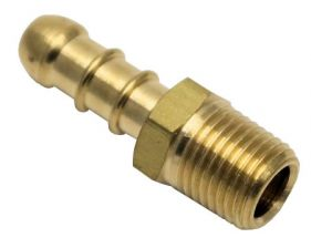 Ionic 1/4 Inch BSPT 90 Degree Hosetail (8mm)
