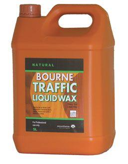 Bourne Liquid Traffic Wax Liquid Floor Wax 5 Litre
