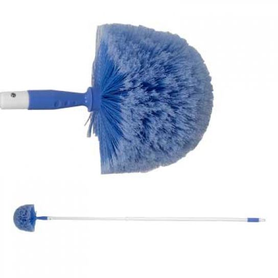 Domed Cobweb Brush With Telescopic Handle Dusters