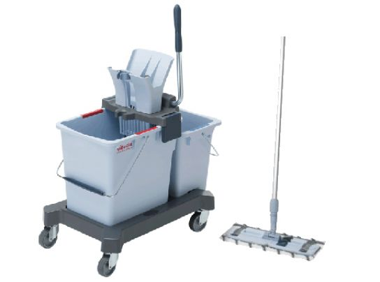 Vileda Ultraspeed Pro Double Bucket & Mop System