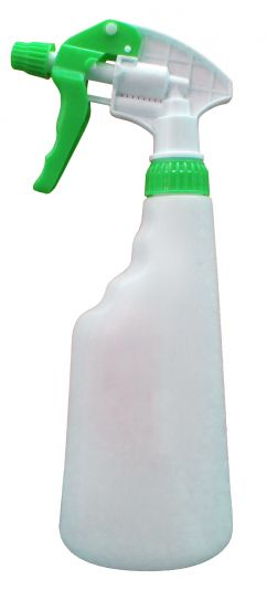 650 ml Bottle Complete With Green Trigger Spray