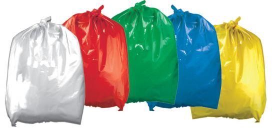 Coloured Refuse Sacks Choose Colour//Qty