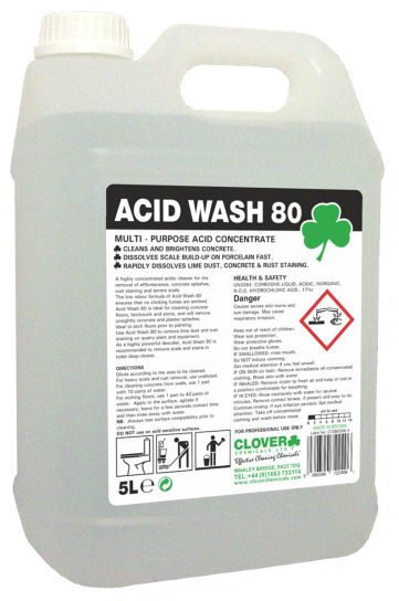 Acid Wash 80 x 5 ltr