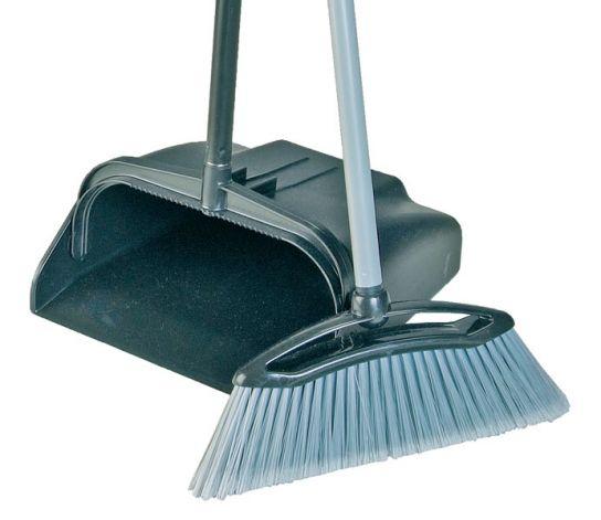 Contico Open Long Handle Dustpan Brush