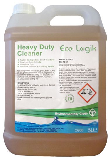Eco Logik Heavy Duty Cleaner x 5 ltr