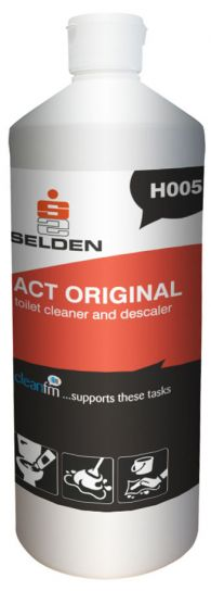 Selden Act Toilet Cleaner x 1 ltr