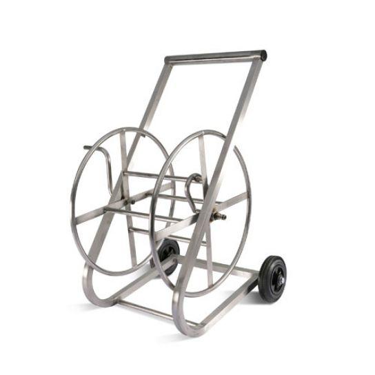 Yardworks Metal Hose Reel Cart Parts Freestanding Garden Replacement – threeseeds.co