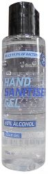 60% Alcohol Hand Gel Sanitiser x 100ml