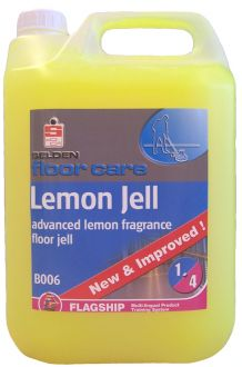 Selden Lemon Floor Gel X 5 Ltr Floor Cleaning Chemicals