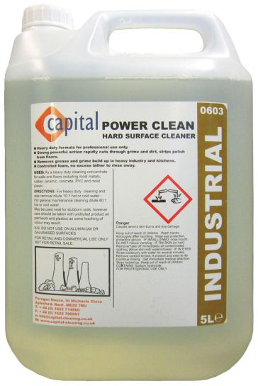 Powerclean x 5 ltr