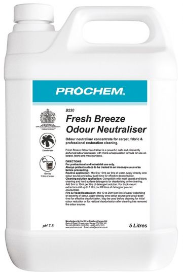 Fresh Breeze Odour Neutraliser x 5 ltr
