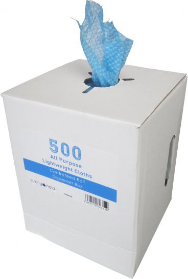 Offer of the Week - All Purpose Lightweight Blue Cloths on a Roll x 500